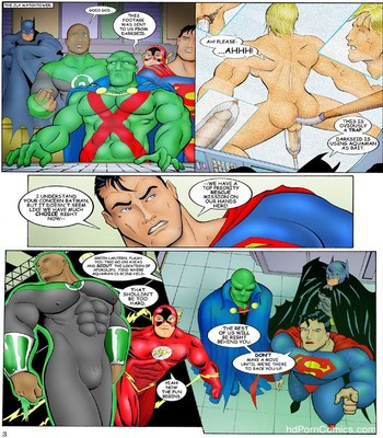 JLA Sex Comic sex 4