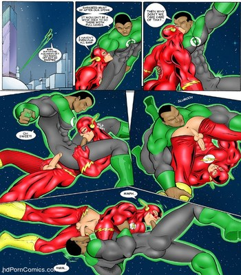 JLA Sex Comic sex 5