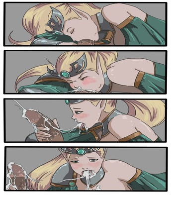 Janna Blows Sex Comic