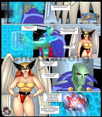 Justice league - Porncomics5 free sex comic