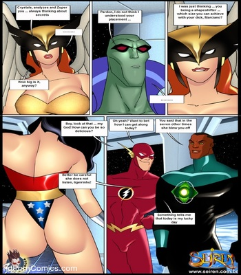 Justice league - Porncomics6 free sex comic