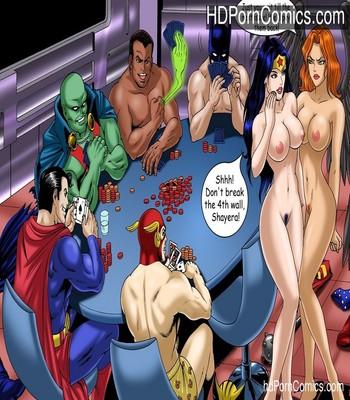 Justice Hentai 1 Sex Comic