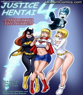 Porn Comics - Justice Hentai 4 Sex Comic