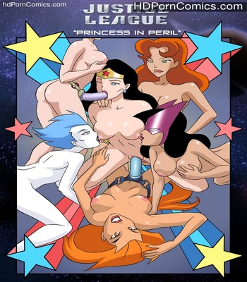 Porn Comics - Justice League 1 Sex Comic