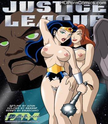 Porn Comics - Justice League 2 Sex Comic