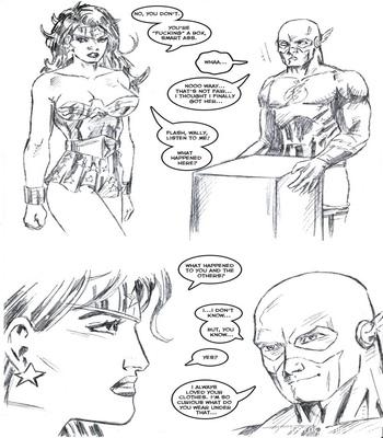 Justice League XXX 12 free sex comic