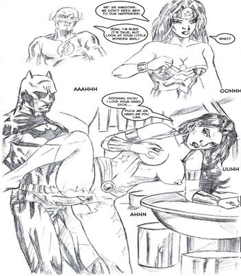 Justice League XXX 13 free sex comic