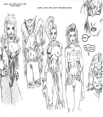 Justice League XXX 18 free sex comic