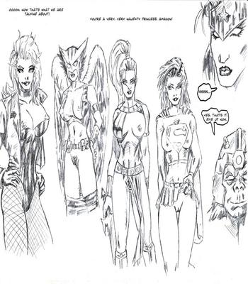 Justice League XXX 23 free sex comic