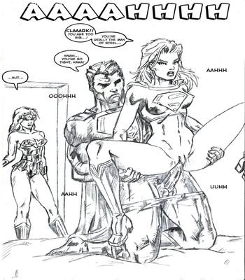 Justice League XXX 3 free sex comic