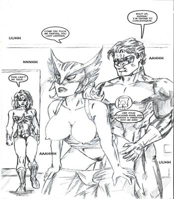 Justice League XXX 5 free sex comic