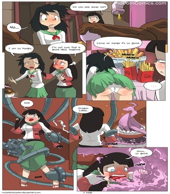 Kagome And Sango Banquet 3 free sex comic