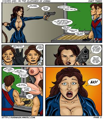 Karmagik- Danger Girl In the Clutches of Cobra12 free sex comic