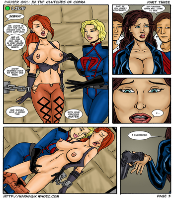 Karmagik- Danger Girl In the Clutches of Cobra13 free sex comic
