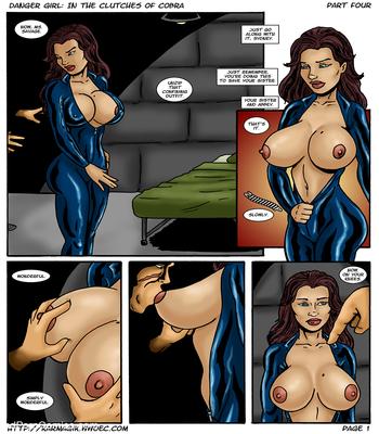 Karmagik- Danger Girl In the Clutches of Cobra15 free sex comic