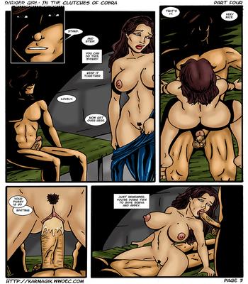 Karmagik- Danger Girl In the Clutches of Cobra17 free sex comic