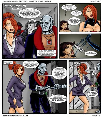 Karmagik- Danger Girl In the Clutches of Cobra27 free sex comic