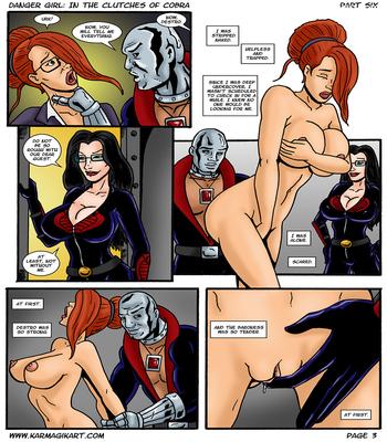 Karmagik- Danger Girl In the Clutches of Cobra28 free sex comic