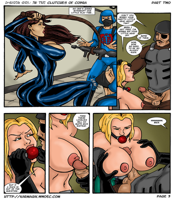 Karmagik- Danger Girl In the Clutches of Cobra7 free sex comic