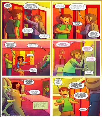 Keeping It Up With The Joneses Chapter 03 free Porn Comic sex 8
