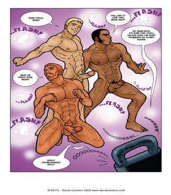 Keys 1 – Contact Sex Comic