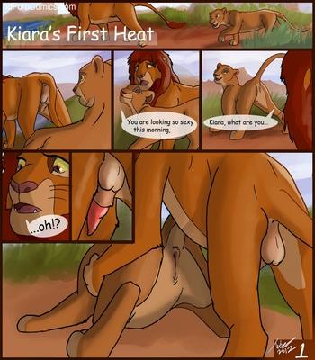 Kiara's First Heat 2 free sex comic