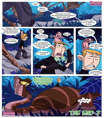 Kim vs Kaa - To Coil A Spy Sex Comic