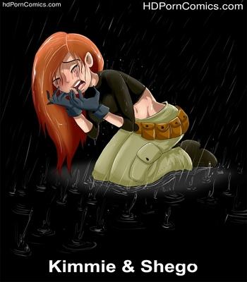 Porn Comics - Kimmie & Shego Sex Comic