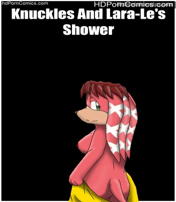 Porn Comics - Knuckles And Lara-Le's Shower Sex Comic