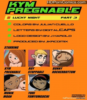 Porn Comics - Kym Pregnable 3 Sex Comic