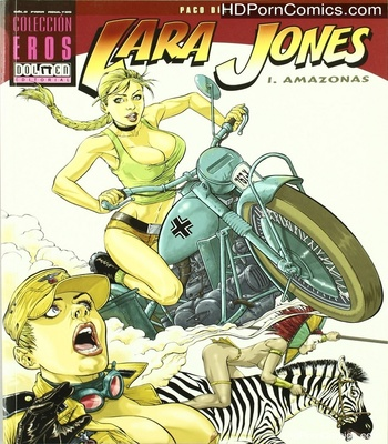 Porn Comics - Lara Jones 1 – The Amazons Sex Comic