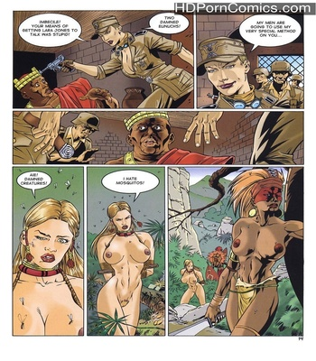 Lara Jones 1 – The Amazons Sex Comic sex 11