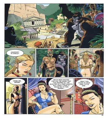 Lara Jones 1 – The Amazons Sex Comic sex 12