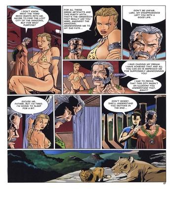 Lara Jones 1 – The Amazons Sex Comic sex 13