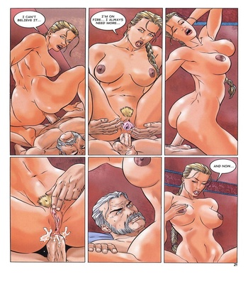 Lara Jones 1 – The Amazons Sex Comic sex 16
