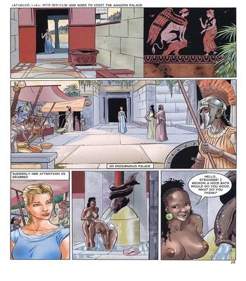 Lara Jones 1 – The Amazons Sex Comic sex 17