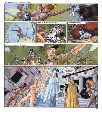 Lara Jones 1 – The Amazons Sex Comic sex 20
