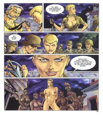 Lara Jones 1 – The Amazons Sex Comic sex 27