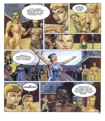 Lara Jones 1 – The Amazons Sex Comic sex 33