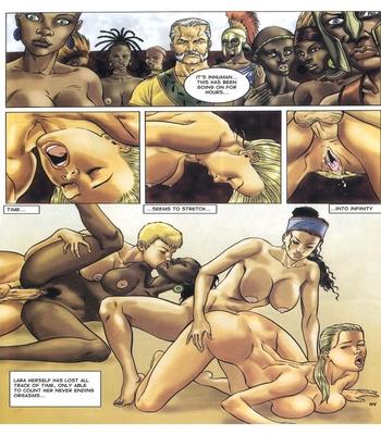 Lara Jones 1 – The Amazons Sex Comic sex 34