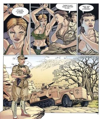 Lara Jones 1 – The Amazons Sex Comic sex 4