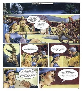 Lara Jones 1 – The Amazons Sex Comic sex 43