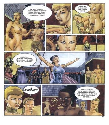 Lara Jones 1 – The Amazons Sex Comic sex 44