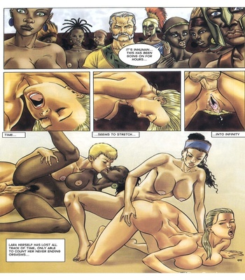 Lara Jones 1 – The Amazons Sex Comic sex 45