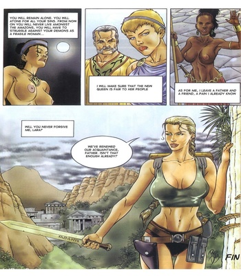 Lara Jones 1 – The Amazons Sex Comic