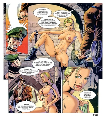 Lara Jones – The Hammer Of Thor Sex Comic