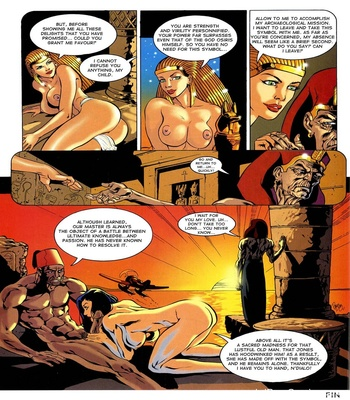 Lara Jones – The Treasure Of Osiris Sex Comic