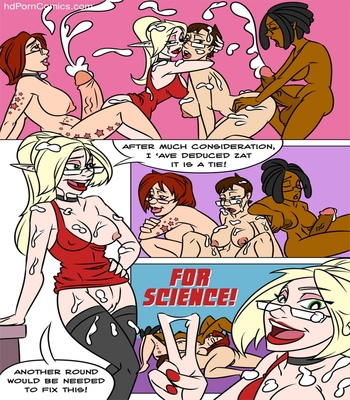Lauren & Mey Mey - Head To Head Sex Comic