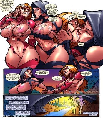 Legio – Sister LUX free Cartoon Porn Comic