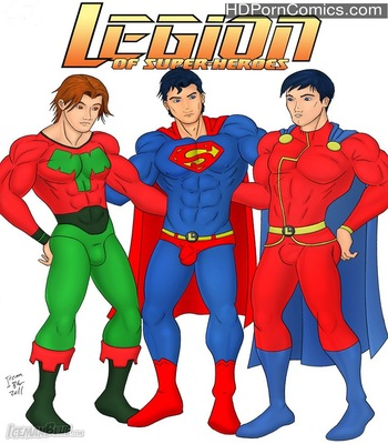 Porn Comics - Legion Of Super-Heroes Sex Comic